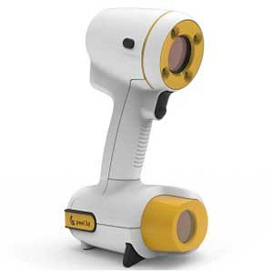 The peel 3d 3d scanner is a wireless portable 3D scanner.
