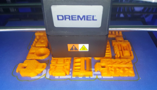 The Dremel 3D40 Idea Builder for Education extruder.