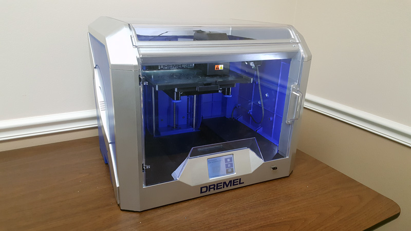 Our Dremel 3D40 Idea Builder setup.