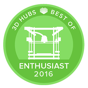 Awards-3D-printers-3D-Hubs-Best-Of-ENTHUSIAST-2016