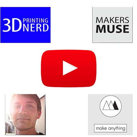 how to become a 3D printing Youtuber. The tips from the best 3D printing Youtubers.