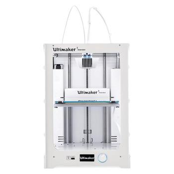 La Ultimaker 3 extended est une imprimante 3D avec un volume d'impression 3D de grande taille.