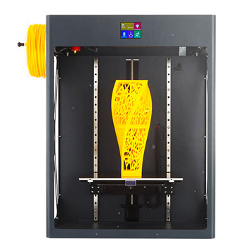 The CraftUnique CraftBot XL is a large volume sturdy 3D printer.
