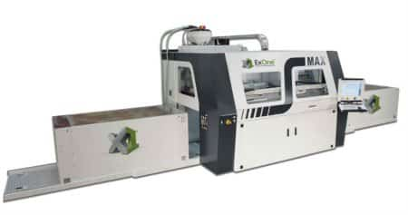 ExOne S-Max, large volume additive manufacturing system.