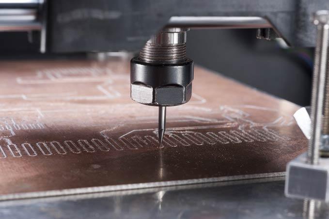 Fraisage CNC avec une imprimante 3D multi-fonctionnelle