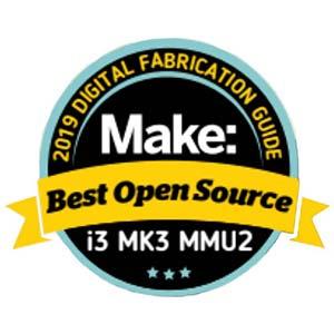 Makezine best open source 3D printer Prusa Research Original Prusa i3 MK3