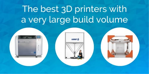 14 very large format 3D printers in 2017