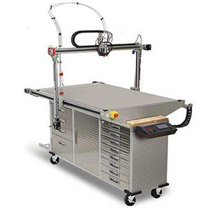 The 400 Series WORKBENCHXTREME offers a very large build volume.