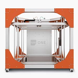 BigRep ONE v3, one of the largest 3D printers on the market.