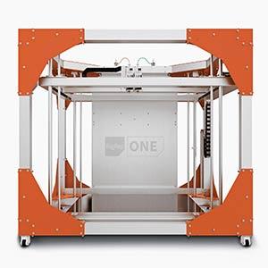 BigRep ONE v3, l'une des plus grandes imprimantes 3D du monde.