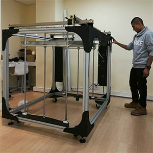 The Moebyus Machines M3 is a super-sized 3D printer.