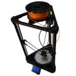 The Natural Robotics DELTA BLACK 3D printer can 3D print up to 500 mm/s.