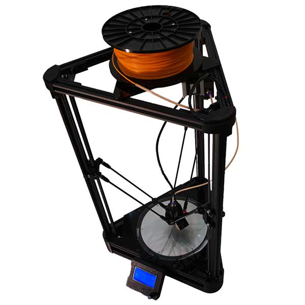 DELTA BLACK Natural Robotics - 3D printers
