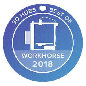 3D Hubs Best Of Workhorse 2018