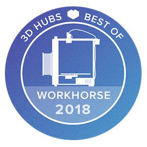 3D Hubs Best Of Workhorse 2018