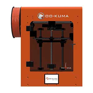 La OO-KUMA KATANA est une imprimante 3D PEEK et ULTEM®.