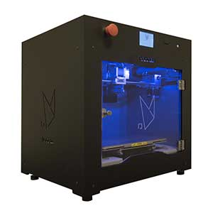 The Roboze One +400 is a PEEK and PEI 3D printer.