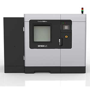 The Stratasys Fortus 900mc is an ULTEM 3D printer.