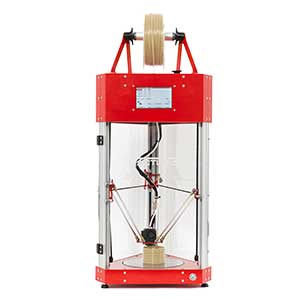 The Tractus3D T650P is a professional high-resistance material 3D printer.