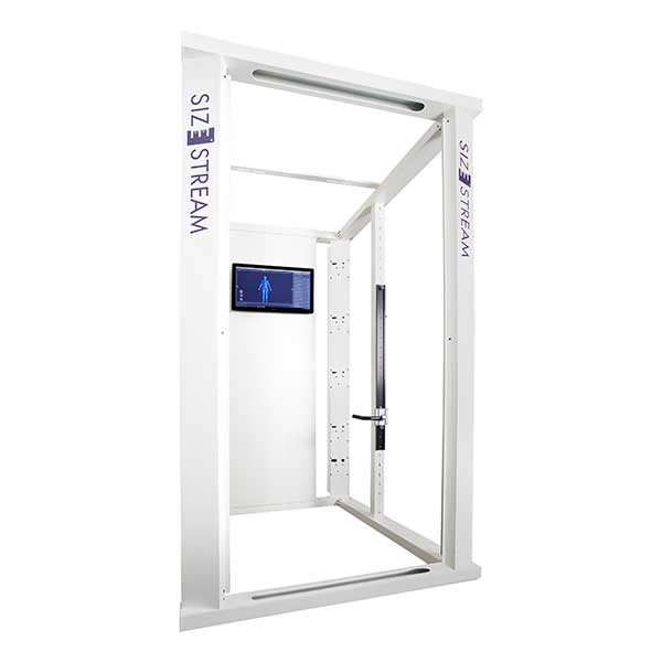 SS20 3D Body Scanner Size Stream - Body scanning