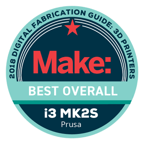 Makezine awards 2018 Original Prusa i3 MK2S Best Overall