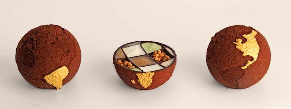 Food 3D printing: 3D printed food art by Marijn Roovers.