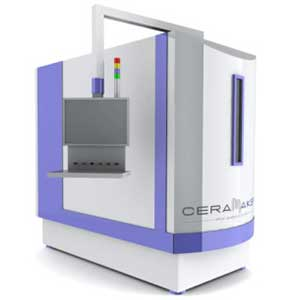 The 3DCeram CERAMAKER is a ceramic additive manufacturing system.
