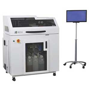 The ExOne Innovent is an industrial ceramic 3D printer.
