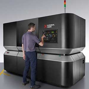 The XJet Carmel 1400 is an industrial ceramic 3D printing solution.