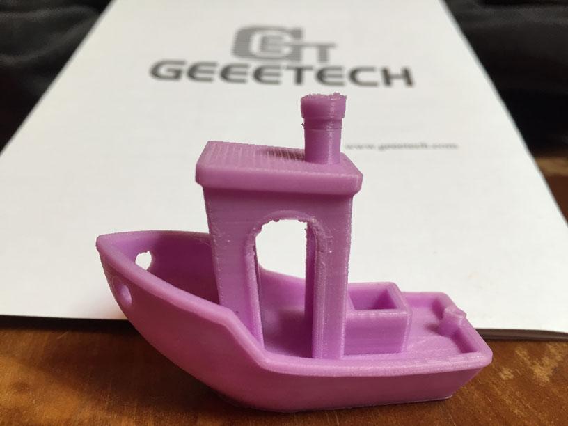 Test Geeetech E180 Benchy