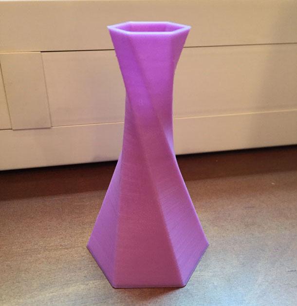 Test imprimante 3D Geeetech E180 vase