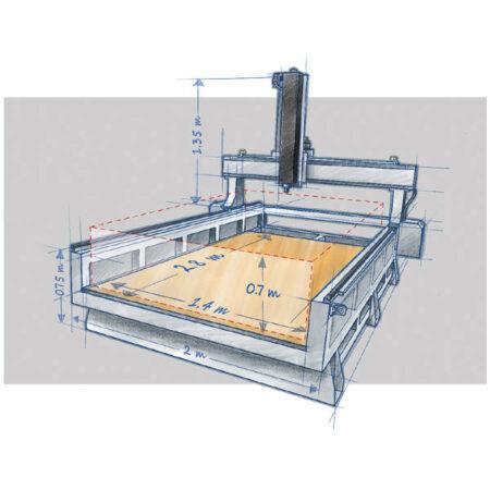 WorkCenter 500 3D Platform - Pellets