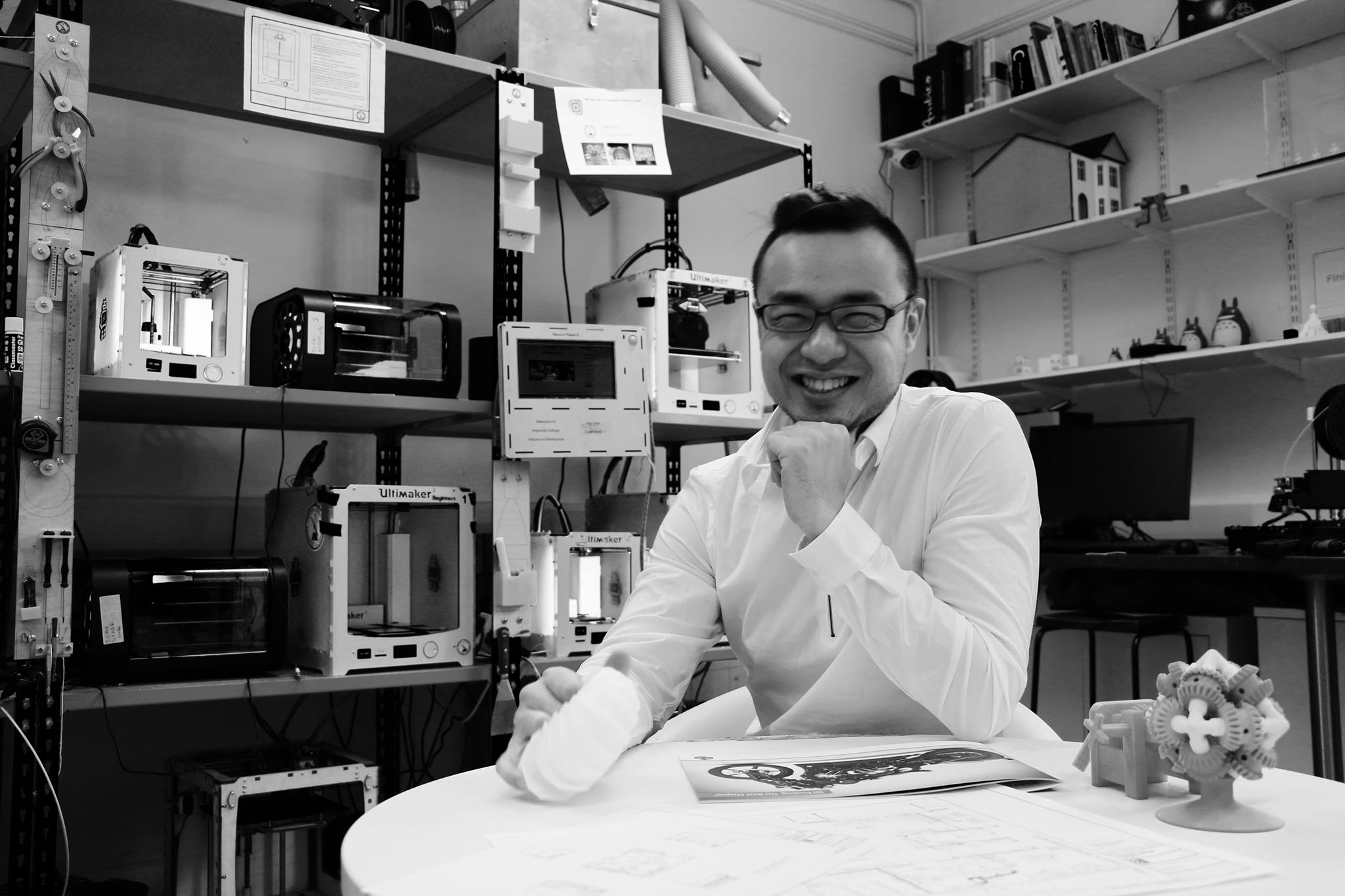 3D printing meets augmented reality: an interview with Eric Gu, co-founder of InfiniFab