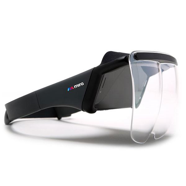 Mira Prism casque AR pour smartphones.