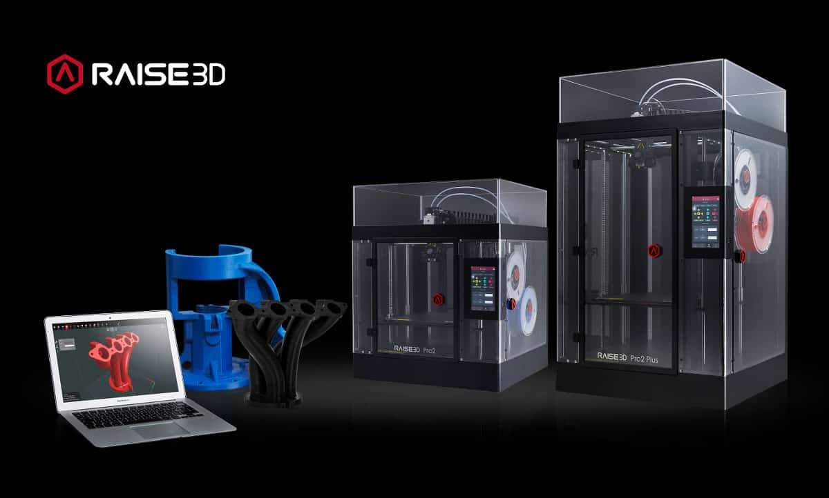 Raise3D Pro2 series was designed to improve flexible manufacturing
