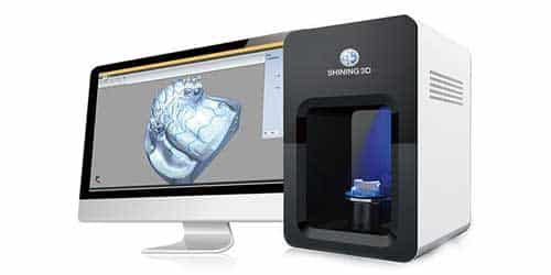 3D scanners categories