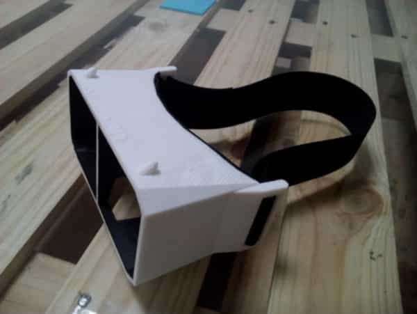The easiest VR headset to 3D print.