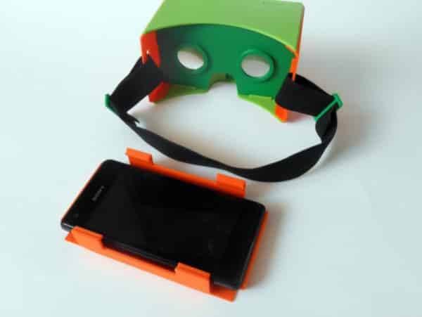 The easiest 3D printed VR headset to assemble.