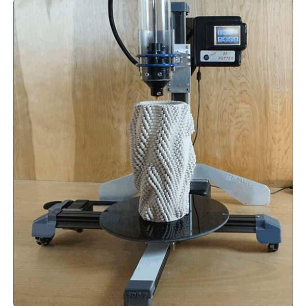 3D PotterBot 7 Mini DeltaBots - Ceramic, Large format