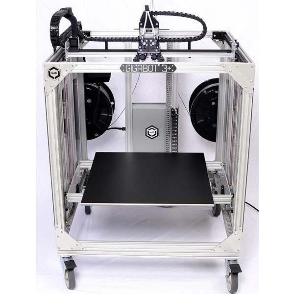 re3D Gigabot 3+ review - large volume 3D printer for professionals