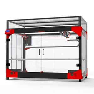 The Modix Extra Large 120X is a very large 3D printer.