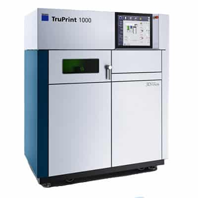 The TRUMPF TruPrint 1000 LMF is a metal AM system.