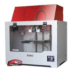 The BIBO2 Touch Laser, in our list of the best 3D printers under $1000.
