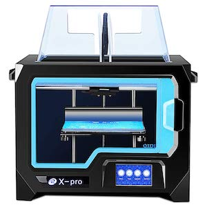 The Qidi Tech X-Pro is among the best 3D printer under $1,000.