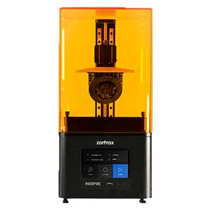 The Zortrax Inkspire is a one of the best LCD resin 3D printers.
