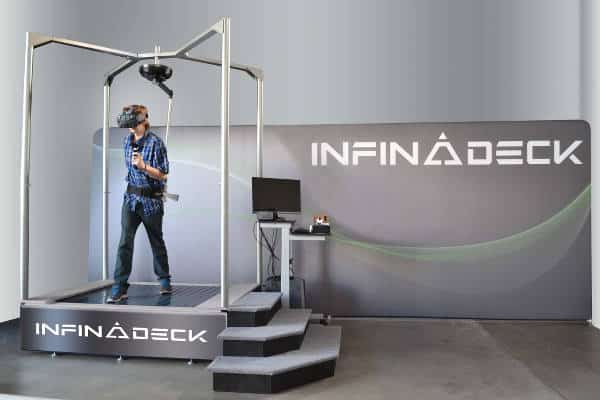 Infinadeck: be the good guys in Ready Player One