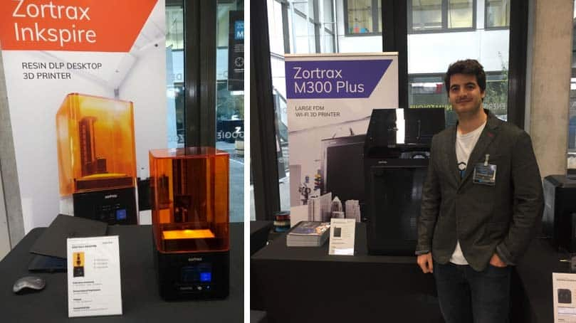 Zortrax was present at Machinarium 3 with the Inkspire and M300 Plus.
