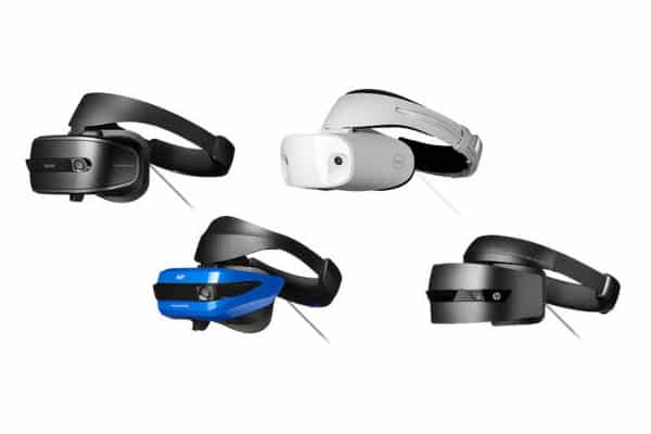 PC VR HMD: Windows Mixed Reality headsets