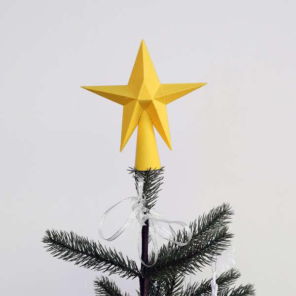 Une étoile pour apporter la touche finale à votre sapin.