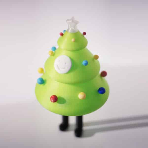 A cute little Christmas tree to print in 3D.